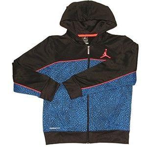 Jordan Boys Therma-fit Camo Print Full-zip Jacket